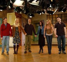 """We didn't want it to end"" - Jennifer Aniston •••  ""I could cry right now just thinking about it"" - Courteney Cox ••• ""It really hit all of us, talking about it being over"" - Lisa Kudrow •••  ""The finale was a huge wave of grief"" - David Schwimmer •••  ""We were all pretty much a mess"" - Matthew Perry ••• ""Saying goodbye was like a death, it was just so sad"" - Matt LeBlanc"