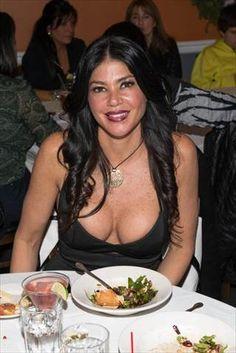 VH1's 'Mob Wives' Season 4 cast member Alicia DiMichele visits Mio Posto Italian Restaurant on Dec. 21 in Hicksville, New York.