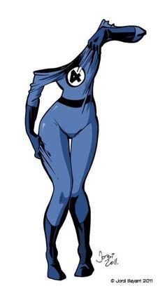 Invisible Woman by Jordi Bayarri Marvel Comic Character, Comic Book Characters, Marvel Characters, Comic Books Art, Comic Art, Character Art, Marvel Comics Art, Marvel Vs, Marvel Heroes