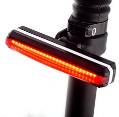 LED Bike Tail Light - SUPER BRIGHT Red Bike Light for MAXIMUM VISIBILITY - Rear Bike Light USB RECHARGEABLE - EASY INSTALL on Any Bicycle Rear Light - WATERPROOF Bike Light Rear - Bike SAFETY Light Fox Sportive http://www.amazon.com/dp/B018ZBMANU/ref=cm_sw_r_pi_dp_YhUYwb0E8TE8V