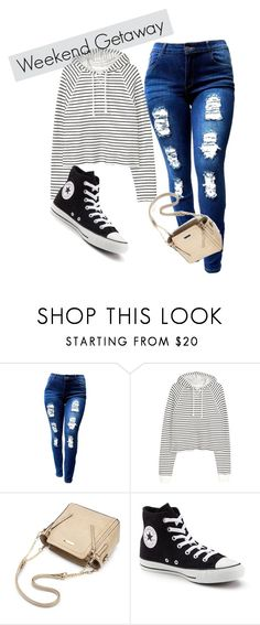 """""""striped"""" by roseryan13 on Polyvore featuring Converse"""