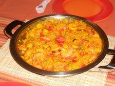 Ισπανική Παέγια ή Παέλια (Paella Mixta)