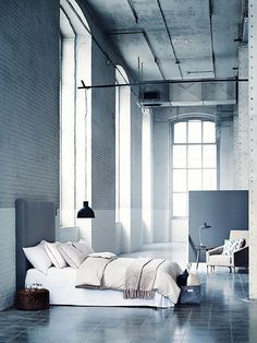 own your morning // bedroom // city life // urban men // home decor //