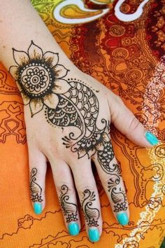Back Hand Mehndi Designs For Any Occasion