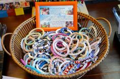 Lily & Laura Assorted Bracelets If you would like to purchase one of these bracelets online please include the color you would like in check out or come in store to view our wide array of Lily & Laura