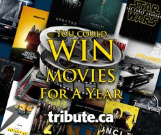 You Could Win Free Movies For a Year !