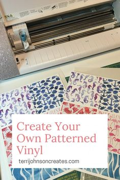 Create Your Own Patterned Vinyl – or how to Fill your Patterns without Designer Edition | Terri Johnson Creates