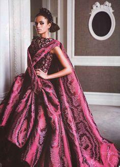 """""""Couture Culture"""" (+)  L'Officiel India, March 2008   photographer: Prabuddha Dasgupta  Lakshmi Menon"""