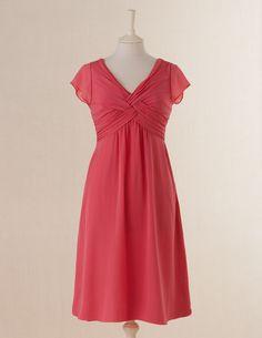 Pretty. Boden. Vintage Silk Dress