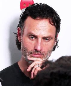 Andrew Lincoln — andy-clutterbuck: ♠︎♠︎♠︎ He knows he is...