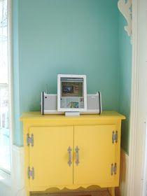 Favorite Paint Colors - Balmy Seas by Behr & Bee in my Bonnet