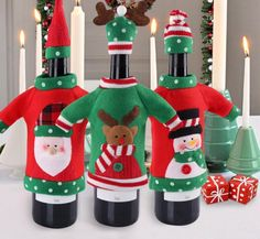 You will love this one: Christmas Wine Bo... Buy this now or its gone! http://jagmohansabharwal.myshopify.com/products/christmas-wine-bottle-cover?utm_campaign=social_autopilot&utm_source=pin&utm_medium=pin