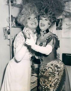 Carol Channing & Ginger Rogers