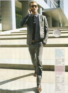 Celebrity Outfits: Paul Walker in GQ