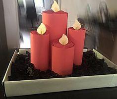 Kaarsen op schaal -- uit de categorie: Sinterklaas surprises
