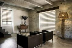 Beautiful Window Treatments installed by Palmetto Outdoor Spaces