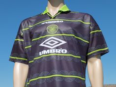 Celtic F.C. Away Shirt Rare 1998-1999 New With Tags Replica - Collectors