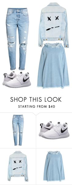 """Untitled #32"" by izabella-todor on Polyvore featuring H&M, NIKE and Marques'Almeida"