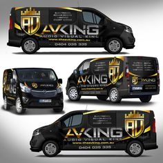 Audio visual / Electrical company - Van needs some COLOUR!