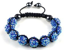 Handmade Bracelet Bangle Pave 12*14mm Resin Disco Ball Hematite Beads Hip-Hop imixlot. $4.99. Adjustable
