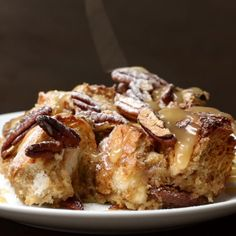 Salted Caramel French Toast Bake Recipe by Tasty