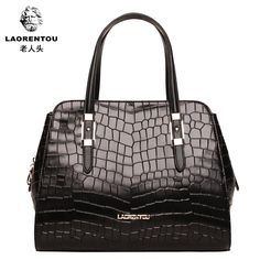 82.00$  Watch here - http://aliubn.worldwells.pw/go.php?t=1648779394 - Crocodile women's handbag 2013 women's japanned leather handbag crocodile pattern leather bag fashion female one shoulder 82.00$