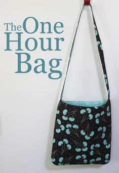 The One Hour Bag tutorial