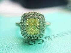 #HaloEngagementRing  #TiffanyEngagementRing  http://www.BloomingBeautyRing.com