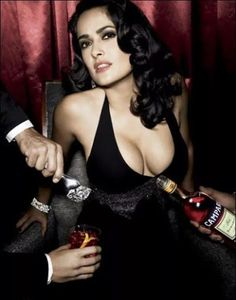 Salma Hayek Only Hangs Out wit... is listed (or ranked) 6 on the list The 49 Absolute Best Pictures of Salma Hayek