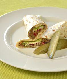 Vegetariánský wrap
