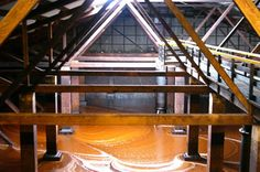 Molasses Well @ Bundaberg Rum Distillery in Australia