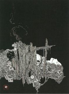 Illustration by Takato Yamamoto (1960 - present).