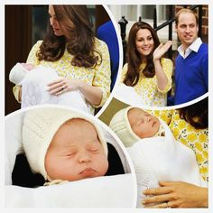 Happy one month little princess ! #princesscharlotte #charlotteelizabethdiana #princessofcambridge #duchessofcambridge #dukeofcambridge