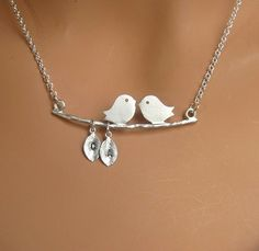 love this love bird necklace