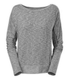 The North Face Women's Shirts & Tops Tops WOMEN'S LONG-SLEEVE HALLINA SHIRT $60.00 170 g/m² 100% twisted two-color jersey