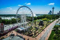 Niagara Falls Attractions include more than just the Falls.: Niagara Skywheel