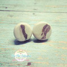 Pearl color earrings
