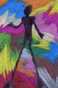 Jamie's Giacometti Drawing