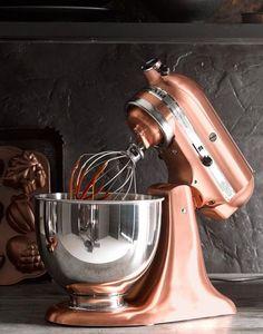bronze KitchenAid mixer