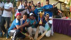D&B' Cricket Knock-out Trophy