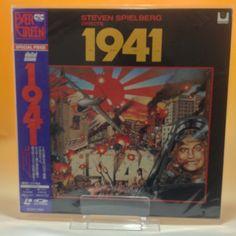 1941 (1979) Steven Spielbergw SF047-1693 LaserDisc LD NTSC w/OBI Japan