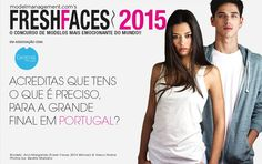 Apply to #FreshFaces2015 #Portugal for your chance to win a Model contract with Central Models the agency who also represents Fresh Faces 2014 winner Ana Margarida!