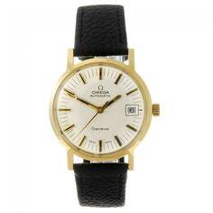 OMEGA - a gentleman's Geneve wrist watch. 7/24, 5am