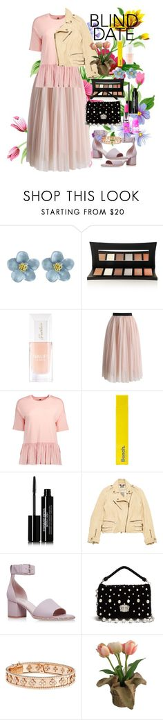 """Dress To Impress: Blind Date"" by annasokolove on Polyvore featuring мода, Illamasqua, Guerlain, Chicwish, Bench, Edward Bess, Burberry, Valentino, Miu Miu и Van Cleef & Arpels"