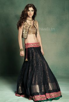 Indian Fashion reaching to new heights. Indian Bridal Wear by JADE by Monica