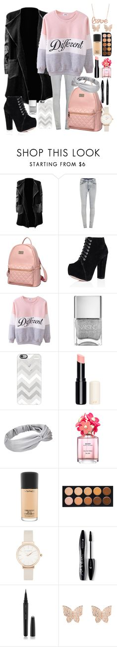 """""""different love"""" by naty2001 ❤ liked on Polyvore featuring Cheap Monday, Princess Carousel, SpyLoveBuy, Casetify, Marc Jacobs, MAC Cosmetics, Morphe, Olivia Burton, Lancôme and Latelita"""