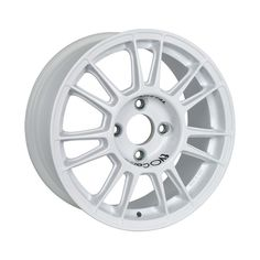 X3MA White is the 15-inch superlight wheels obtained from a special low pressure casting aluminum alloy that provides extraordinary strength and lightness. #WHEELS #MADEINITALY #EVOCORSE #TARMACRALLY #RALLY #WHITE #X3MA