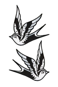 Sparrow Patches - White