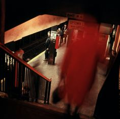Danny Lyon, Union Square station. New York City, 1966