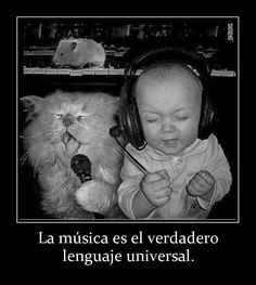 La música es el lenguaje universal